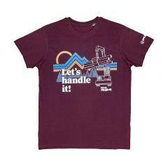 "FUCHS T-Shirt ""MHL 434"" burgundy"
