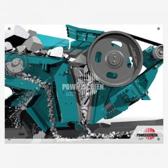 Powerscreen Perspex-Frame - Image 2