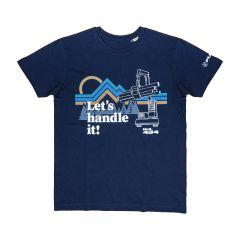 "FUCHS T-Shirt ""MHL 434"" navy"